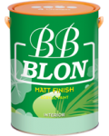 BB BLON INTERIOR MATT FINISH 3,6 Lít